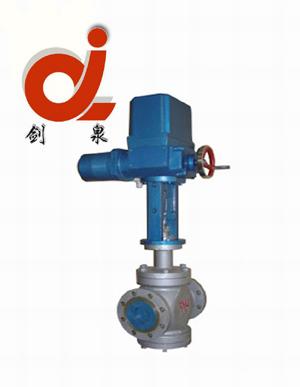 zazp电动单座调节阀_上海剑泉泵阀制造有限公司